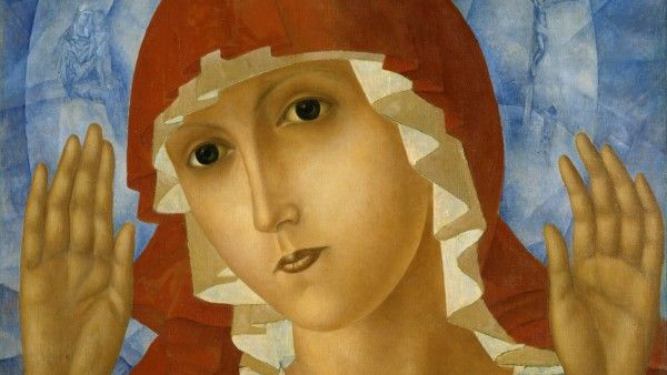 Kuzma_Petrov-Vodkin_-_The_Mother_of_God_of_Tenderness_Towards_Evil_Hearts_-_Google_Art_Project