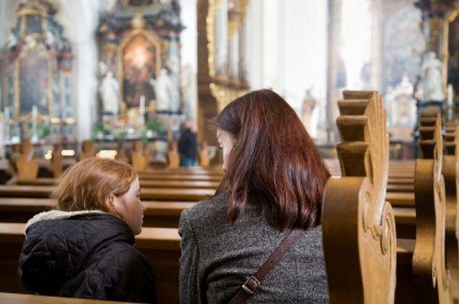 Dziecko wkościele - 7wskazówek dla rodzica