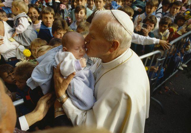 Pope John Paul II in France