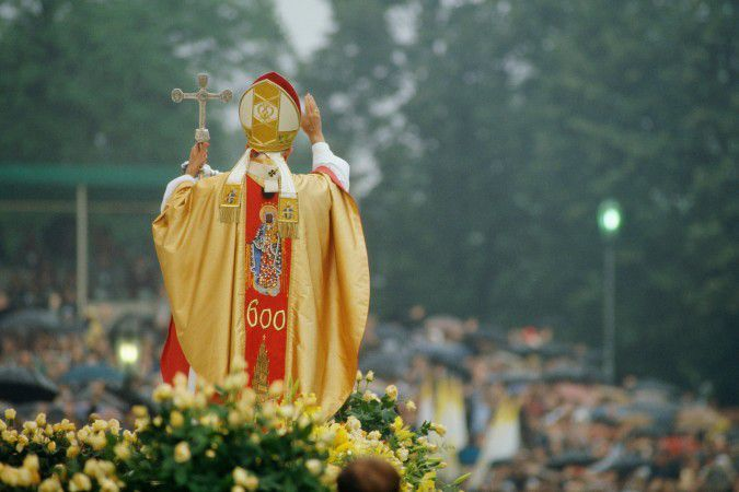 Official visit of Pope John Paul II in Poland