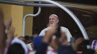 Papież: niech Polska rozwija się wpokoju