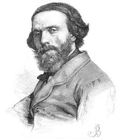 Józef_Łoskoczyński_-_Cyprian_Norwid_(grayscale)