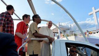 Papież był zachwycony polskimi krajobrazami