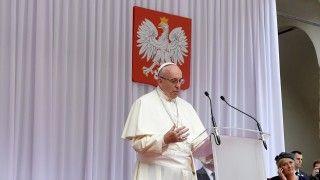 Papież doPolaków: bądźcie znakiem miłosierdzia Boga