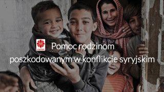 Polskie Rodziny ruszyły zpomocą rodzinom syryjskim