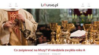 Ruszyła nowa formuła serwisu Liturgia.pl