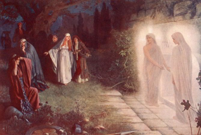 Resurrection-­-Morn-by-Herbert-Gustave-Schmalz