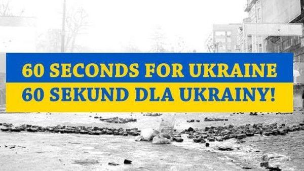 60 sekund dla Ukrainy