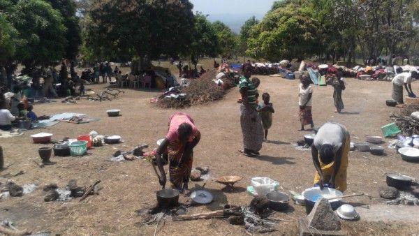 Afryka woła o pokój. Akcja humanitarna