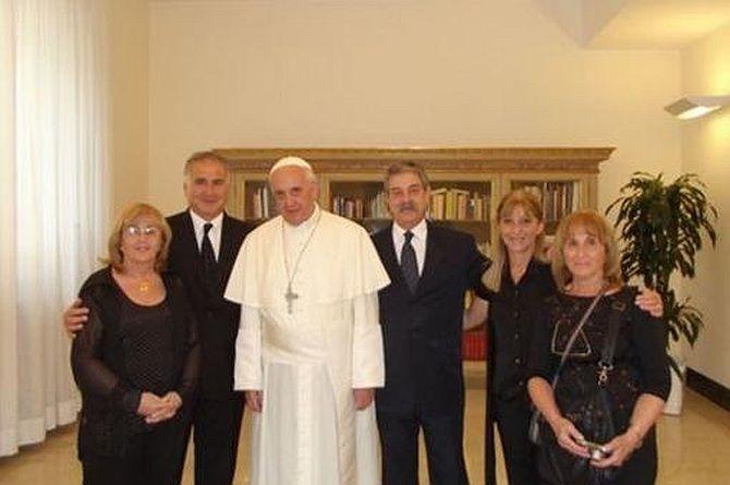 Alicia Oliveira – ocalona przezpapieża
