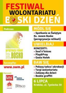 Będzie BOSKO! Święto młodzieży, misji iwolontariatu