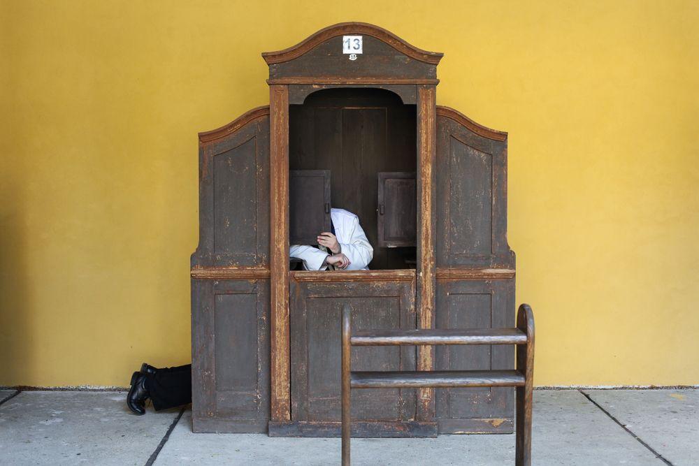 """Bergoglio i""""skradziony"""" krzyżyk"""