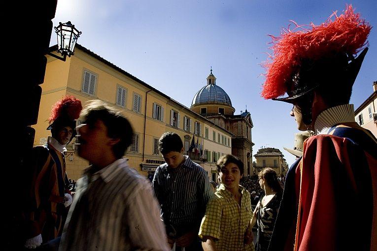 Castel Gandolfo - tam wczwartek będzie centrum świata