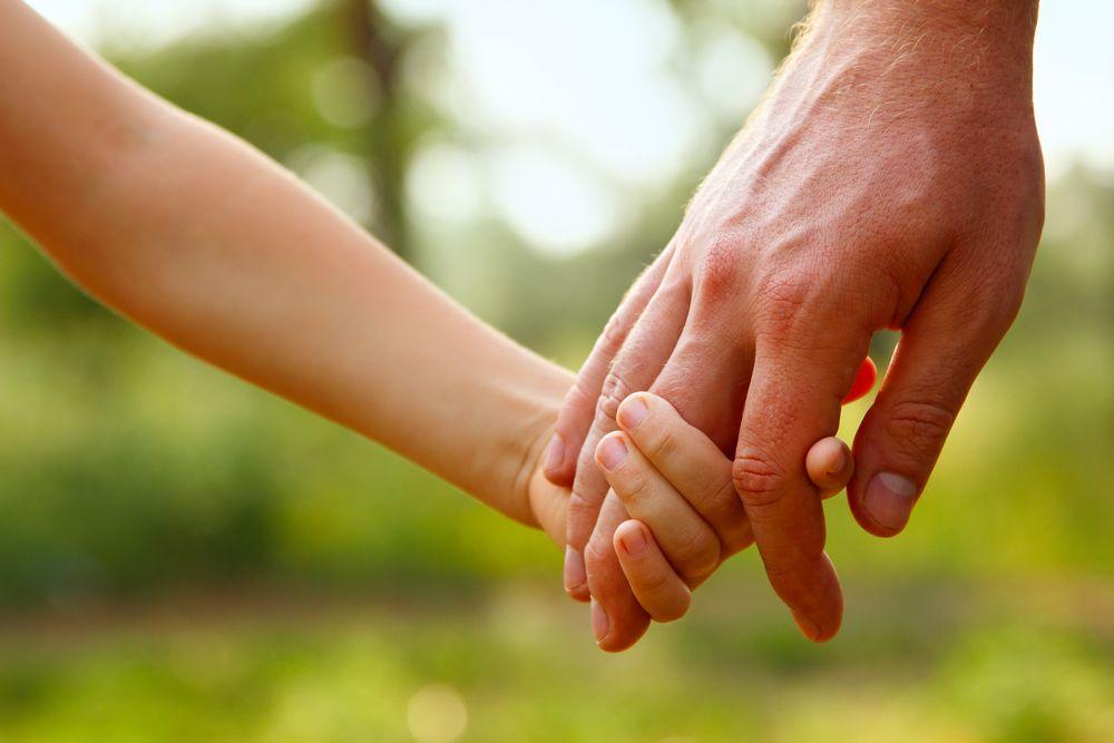 Człowiek wsparcia – ojciec