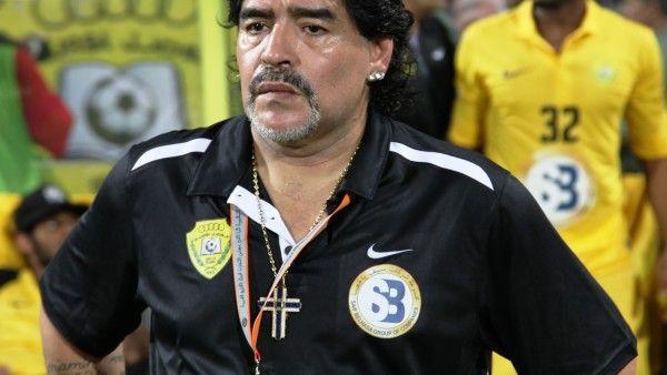 """Diego Maradona: """"Pierwszym fanem Franciszka jestem ja"""""""