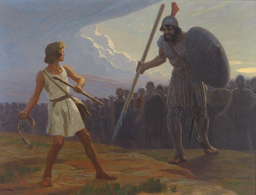 Do wszystkich Goliatów tego świata