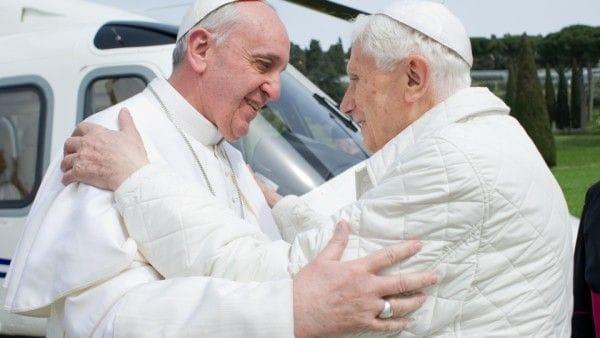 Dwóch Papieży w Watykanie