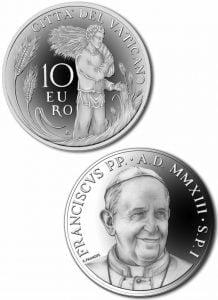Euro zwizerunkiem papieża Franciszka!