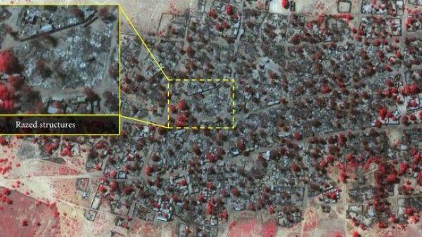 Islamiści w Nigerii zrównali dwie miejscowości z ziemią!