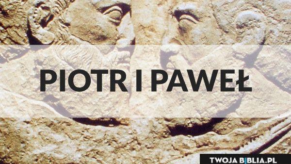 Jutro Niedziela - Uroczystość świętych Piotra i Pawła A