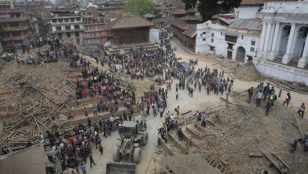 Klasztory schronieniem dla ofiar trzęsienia ziemi w Nepalu