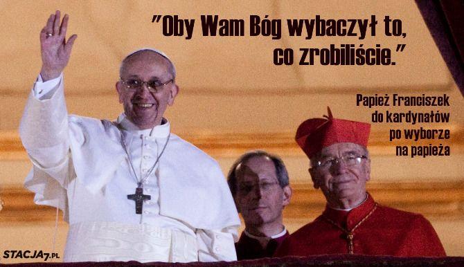 Kwiatki Papieża Franciszka