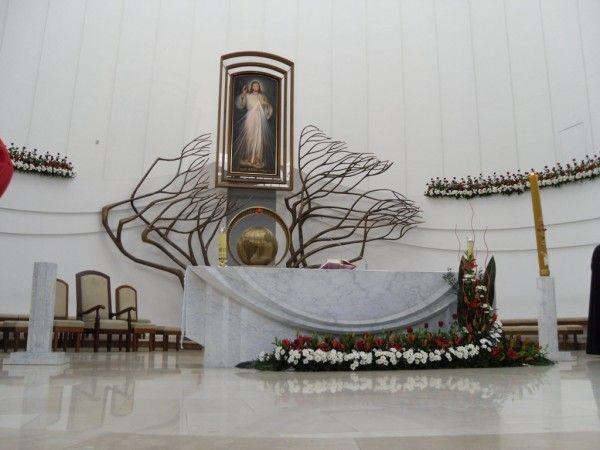 Łagiewniki: młodzi wtrakcie ŚDM muszą tu doświadczyć obecności miłosiernego Chrystusa