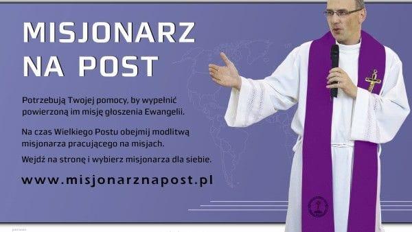 Modlitwa za misjonarza