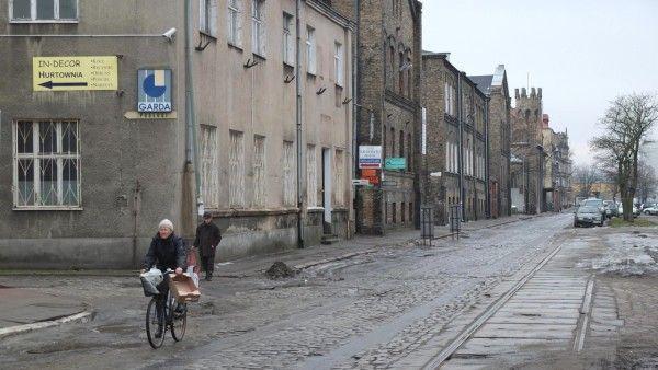Moja ulica murem podzielona