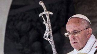 Franciszek: nakrzyżu rodzi się nasza nadzieja