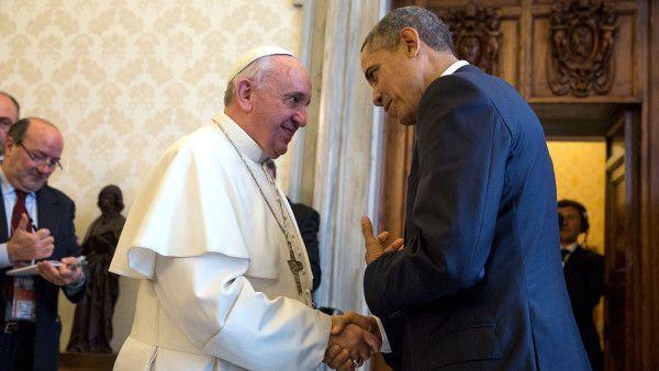 Obama spotka się z papieżem. Będą rozmawiać o...