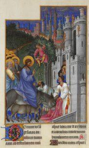 Oczekiwania wobec Jezusa: Wjazd doJerozolimy