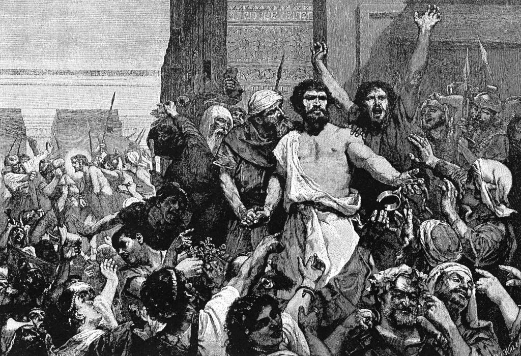 Oczekiwania wobec Jezusa: Wybrałbym Barabasza