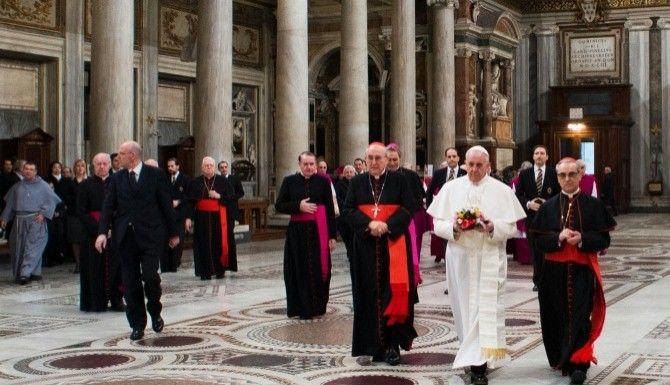 Papież Franciszek odAdoZ
