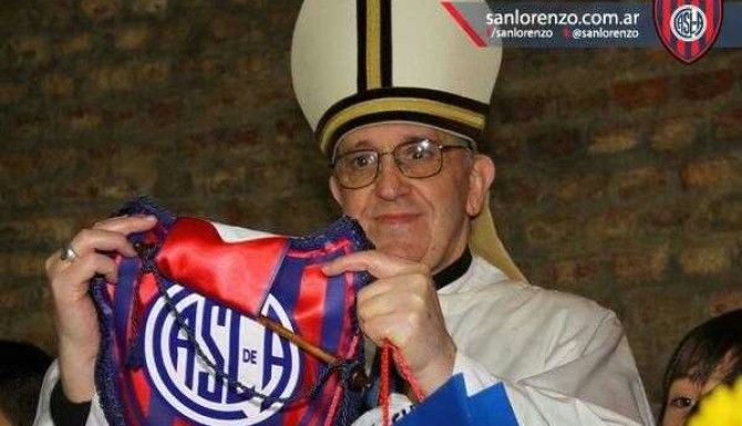 Papież Franciszek – piłkarski kibic nr1