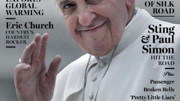Papież na okładce. Fajnie, ale...