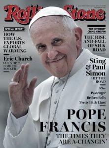 Papież naokładce. Fajnie, ale...