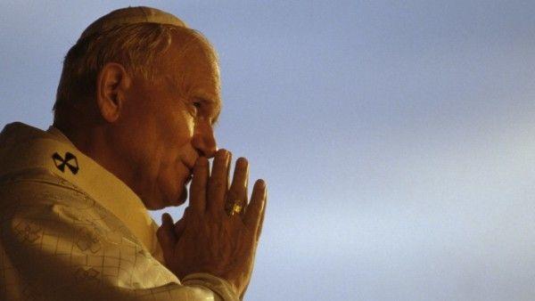 Pluszowy miś na kanonizację Jana Pawła II