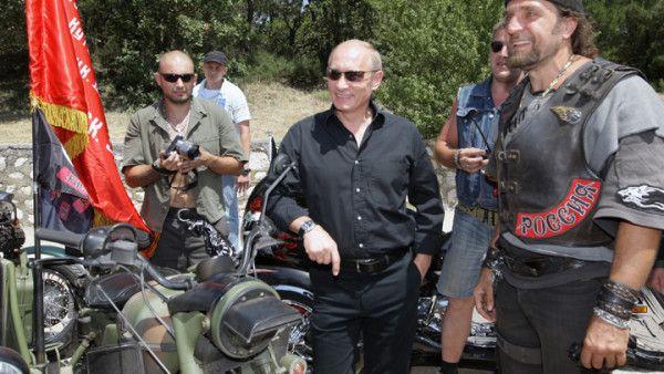 """Polscy motocykliści ostrożnie o """"Nocnych Wilkach"""""""