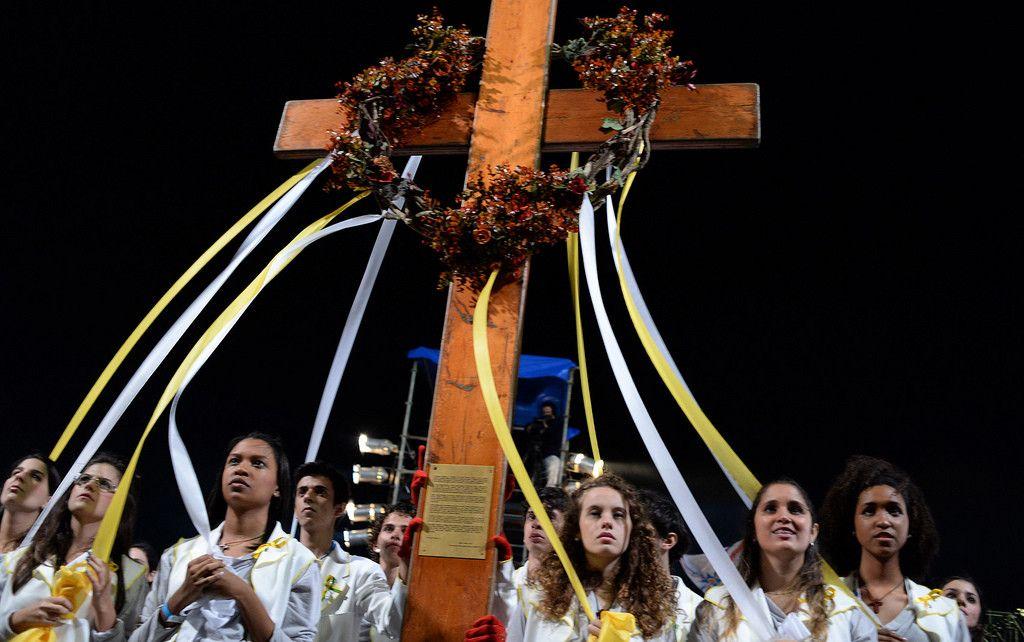Polska młodzież wyjedzie doRzymu pokrzyż ŚDM
