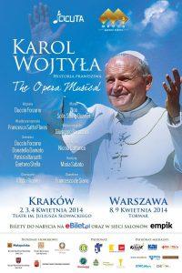 Premiera musicalu ożyciu Karola Wojtyły