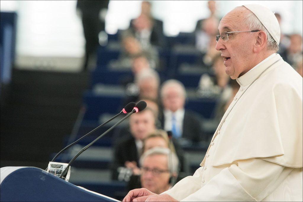 Przemówienie Papieża Franciszka wParlamencie Europejskim