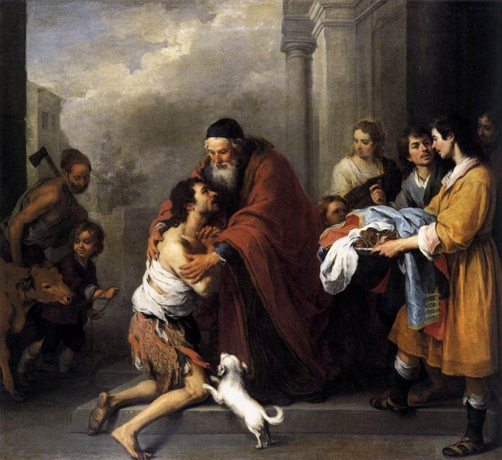 Przypowieści - Jezusowy styl. Miłosierny Ojciec ijego synowie (Łk 15,11-32)