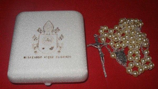 Różaniec papieża Franciszka dla chorzowskich niepełnosprawnych