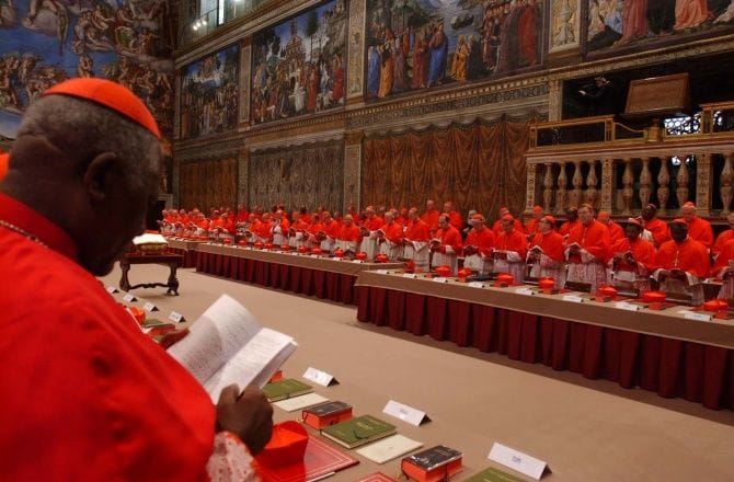 Skąd się bierze papież?