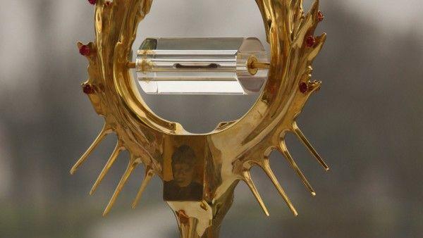Skradziono relikwie Jana Pawła II