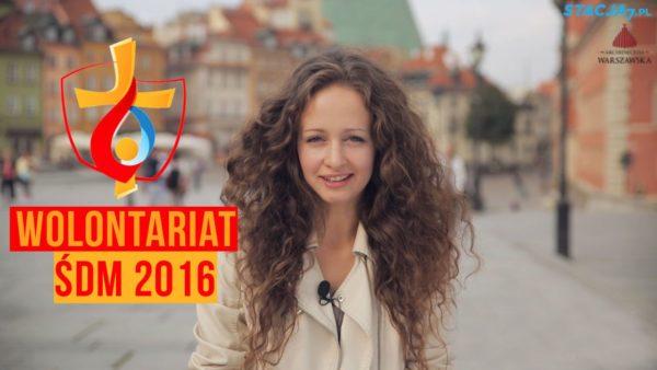 Światowe Dni Młodzieży: zostań wolontariuszem!