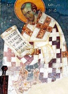 Święty Jan Chryzostom.