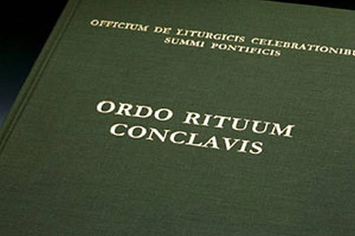 Tajemnicza księga – Ordo Rituum Conclavis