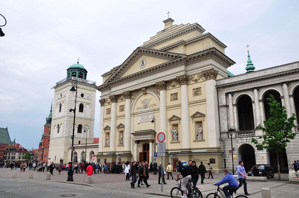 W kościele św.Anny ruszają Katechezy Warszawskie